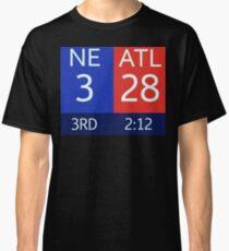 The Falcons 28-3 Lead Classic T-Shirt