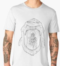 Geppetto in the Whale Men's Premium T-Shirt