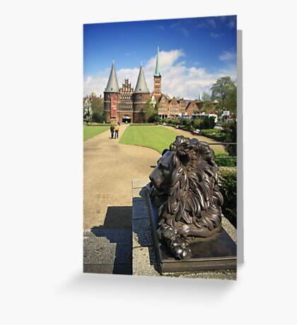 Lübeck, Germany Greeting Card