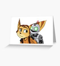 Rachet and Clank  Greeting Card