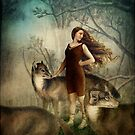 Running with the wolfs by Catrin Welz-Stein