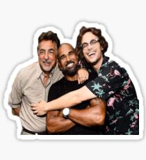 Matthew Gray Gubler, Shemar Moore,  Sticker