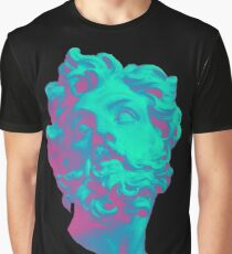Aesthetic Statue Head Graphic T-Shirt