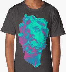 Aesthetic Statue Head Long T-Shirt