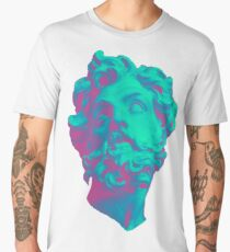 Aesthetic Statue Head Men's Premium T-Shirt