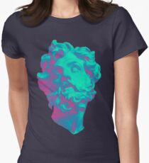 Aesthetic Statue Head Women's Fitted T-Shirt