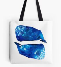 Twin Whales Tote Bag