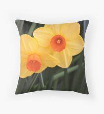 Lovely Flowers Throw Pillow