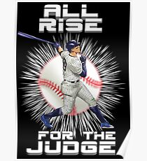 All Rise For The Judge - New York Poster