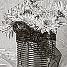 Tin Can Daisies  by Sandra Foster