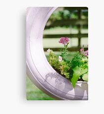 Pink Floral 2 Canvas Print