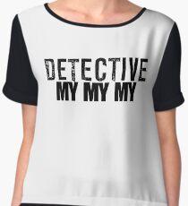 Joe Kenda Detective Mymymy Women's Chiffon Top