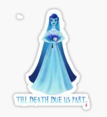 Haunted Bride Sticker