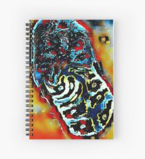 Mitochondria (Red) Spiral Notebook
