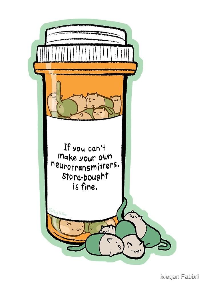 Purrozac Perscription by Megan Fabbri