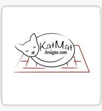 KatMatDesigns Logo Sticker