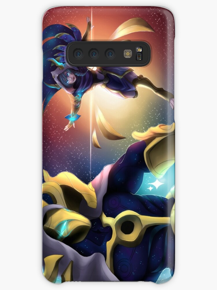 'Cosmic Dusk Xayah/Kassadin' Case/Skin for Samsung Galaxy by CamillaTea