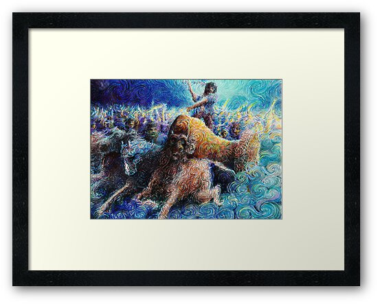 Pictish charge by Calgacus