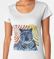 Big Blue Cat Women's Premium T-Shirt