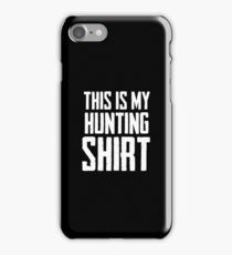 This Is My Hunting Shirt 4 - Hunting Shirt Shooting Cool Gift iPhone Case/Skin