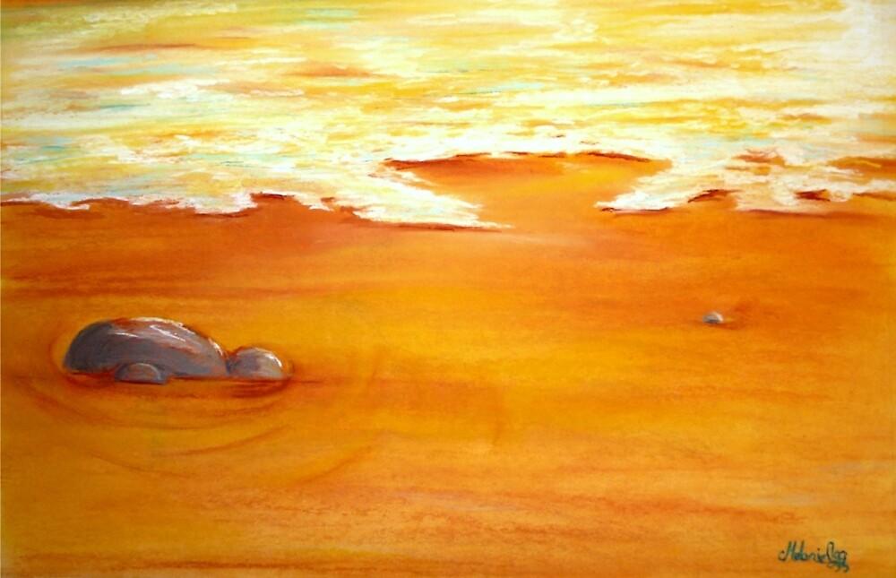 Gold rush by Melanie Pople