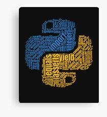 PYTHON Programming Wordcloud Canvas Print