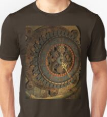 Steampunk, awesome clock Unisex T-Shirt