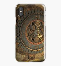 Steampunk, awesome clock iPhone Case/Skin