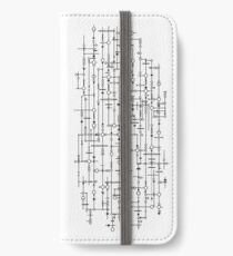 You go on a date with the crazy wall, I have to chaperone  iPhone Wallet