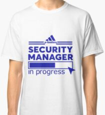 SECURITY MANAGER Classic T-Shirt