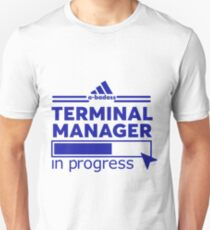 TERMINAL MANAGER Unisex T-Shirt