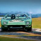 Ford GT40 Targa Florio by Stuart Row