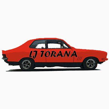 LJ Torana by arsenalgunners