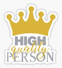 High Quality Person Sticker