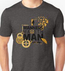 Manners Maketh Man Minimalist T-Shirt
