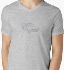 EH Wagon Mens V-Neck T-Shirt