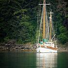 Schooner @ Echo Bay by Yukondick