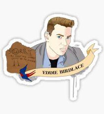 Eddie Birdlace (Dogfight) Sticker