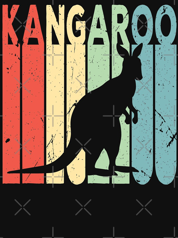 Kangaroo Vintage Retro by prosperousjewel