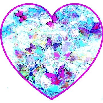 Butterfly heart by trishie