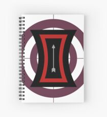 The Arrow of Their Love Spiral Notebook