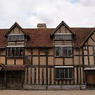 Shakespeare's Birthplace by Steven Guy