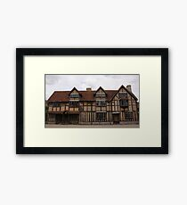 Shakespeare's Birthplace Framed Print