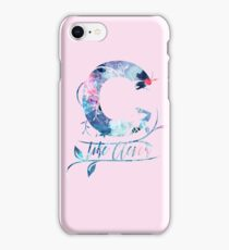 ''C'' like clever quote iPhone Case/Skin