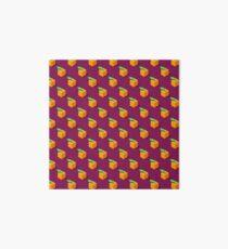 Isometric oranges pattern. Art Board
