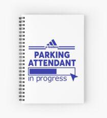 PARKING ATTENDANT Spiral Notebook