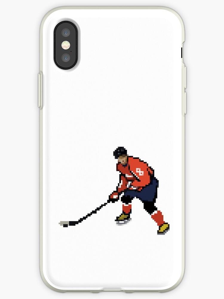 buy popular 99dc1 f0c26 '8 Bit Ice Hockey Player - Alex Ovechkin' iPhone Case by ttorikk