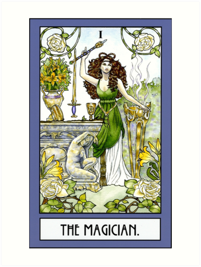 The Magician - Card by WinonaCookie
