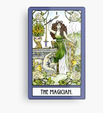 The Magician - Card Metal Print
