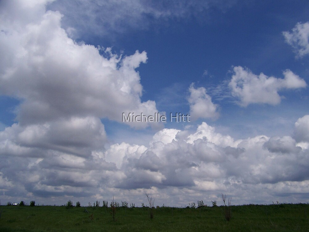 Skyscape by Michelle Hitt